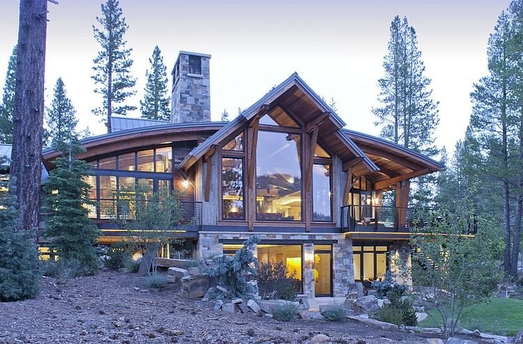 ordinary tahoe architects #3: North Lake Tahoe Residence by Kelly u0026 Stone Architects