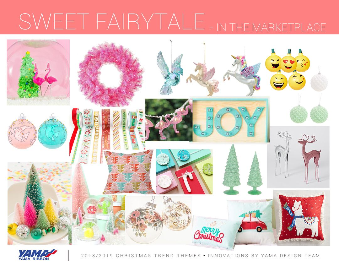feac9e876c0f4 Christmas trend report 2018-2019 by yama design team sweet fairytale ...