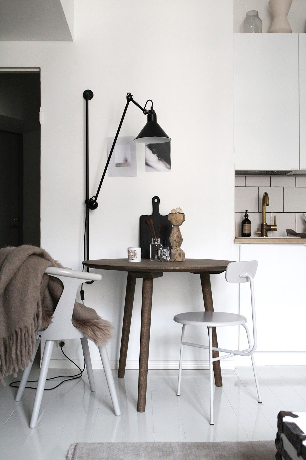 In Between Sk3 Table Raw Design Blog Dining Room Lighting Dining Room Decor Dining Room Design Lights above kitchen table