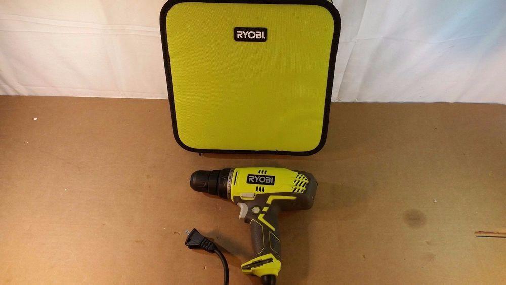 Ryobi D48ck Variable Speed Drill Tools Garage Home Repair 12272016 51 Ryobi Speed Drills Ryobi Drill