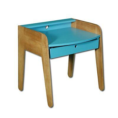 vintage petit bureau vintage bleu pour enfant alinea