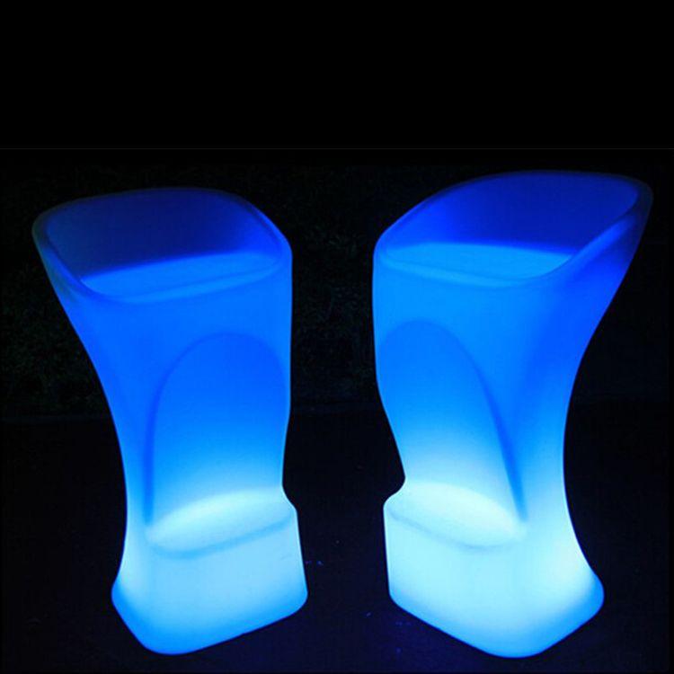 Stunning G nstige LED M bel Gl henden Barhocker Hocker Unzerbrechlich Kaufe Qualit t Restaurant St hle direkt vom