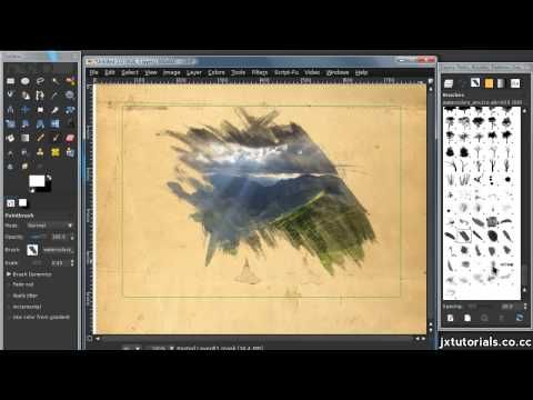 Turning A Picture Into A Watercolor Effect In Gimp Hd Youtube