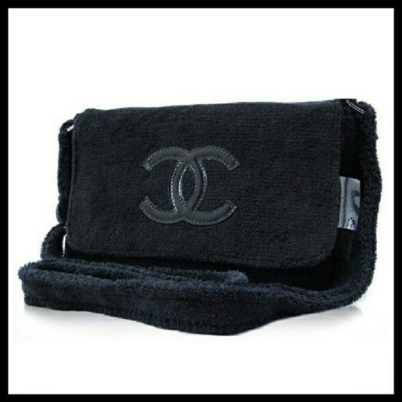 ed25f27e34af Velour soft makeup cosmetic cross body pouch New. VIP gifts. Precision  Beaute Velour Plush