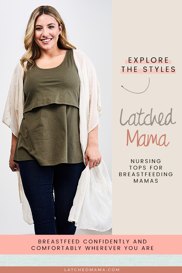 611bd2fb38b Are you looking for the perfect versatile breastfeeding clothes? Latched  Mama is a clothing line