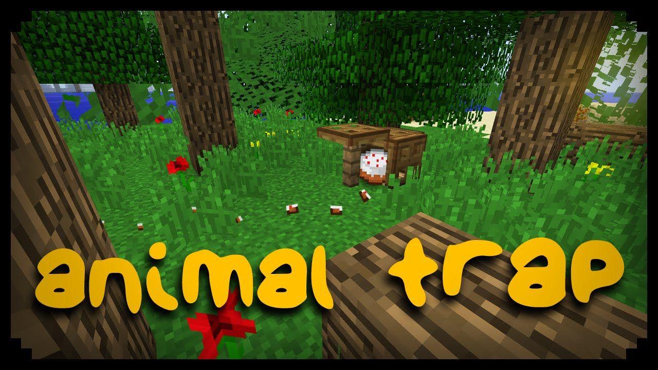 ✓ Minecraft: How to make an Animal Trap | MINECRAFT | Minecraft
