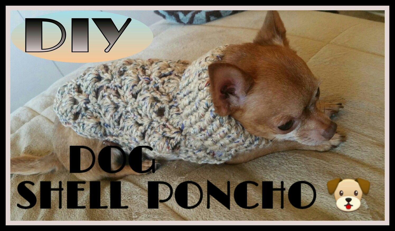 DOG SHELL PONCHO | dog shell poncho | Pinterest