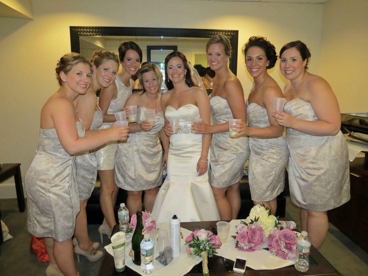My wedding bridesmaids dresses from davids bridal house of wu my wedding bridesmaids dresses from davids bridal house of wu wedding gown added ombrellifo Gallery