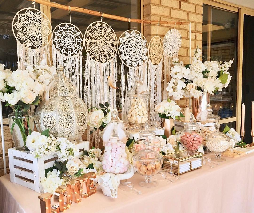 LOLLY bar for this lush boho bridal shower