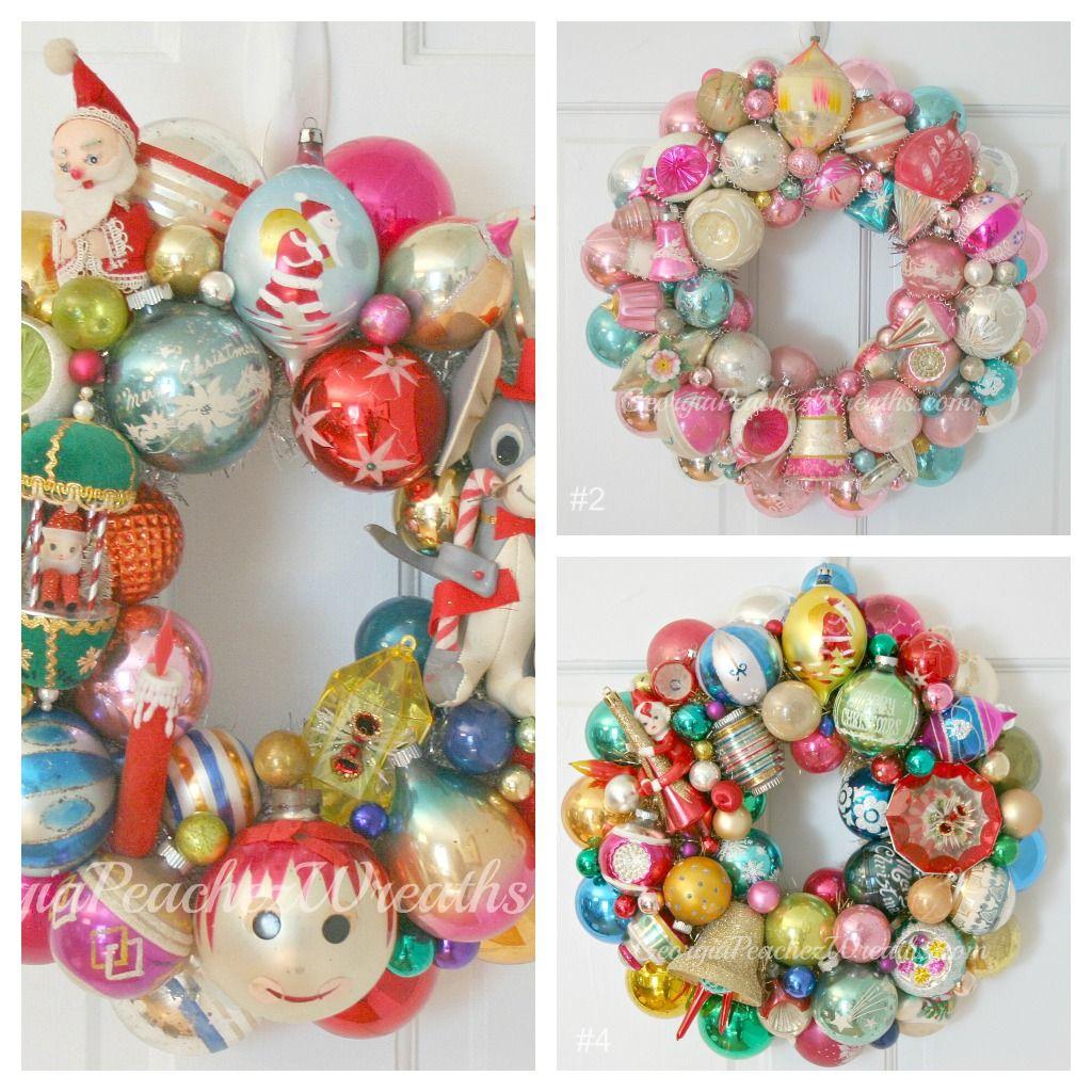 Amazing wreaths made by GeorgiaPeachez.