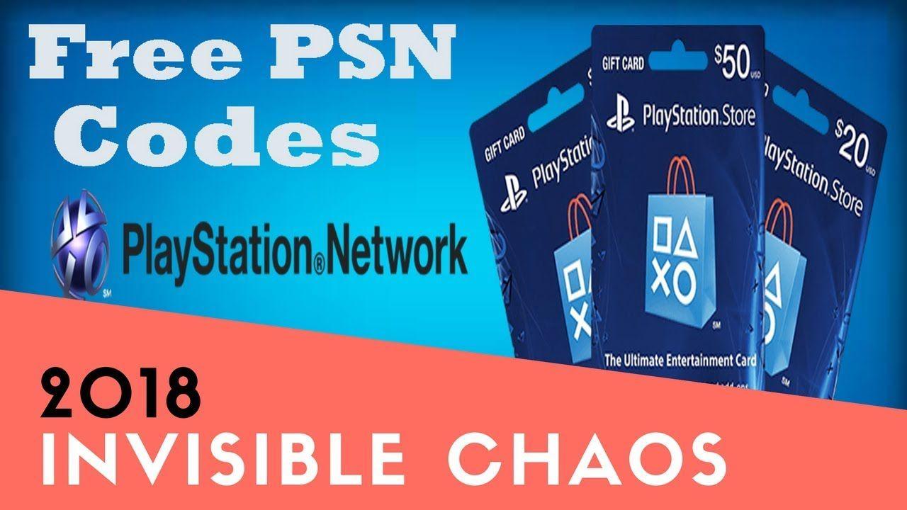 Get free PSN codes Free playstation codes Free psn