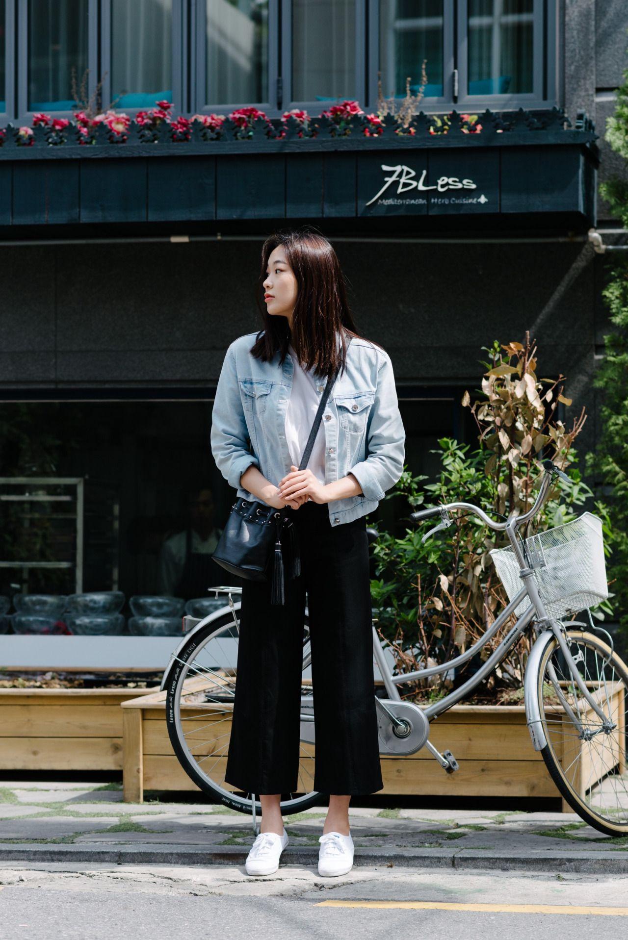 Korean Models : Photo  Gaya model pakaian, Gaya model pakaian