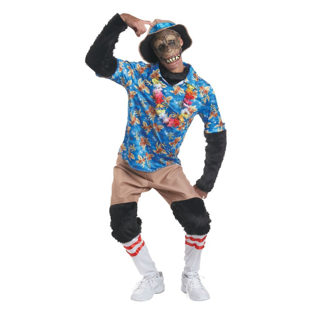 Tourist Chimp Halloween Costume for Adults | Products