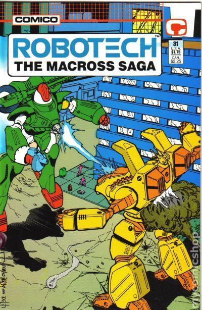 Robotech the Macross Saga 1985 series # 7 very fine comic book
