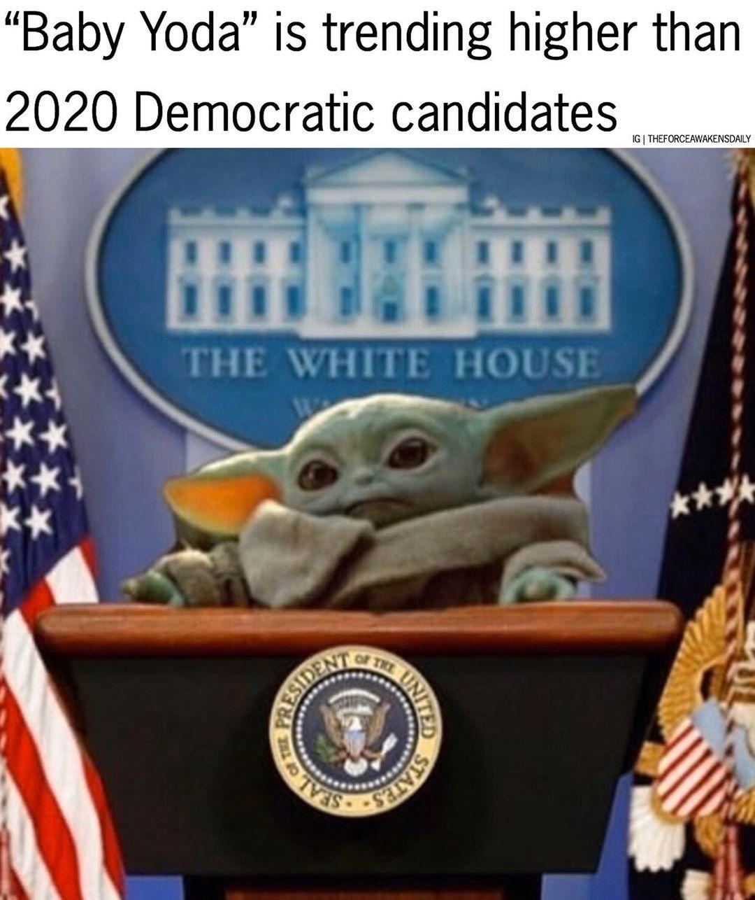 "Star Wars on Instagram ""Baby Yoda 2020 😂 ️Tag a friend"