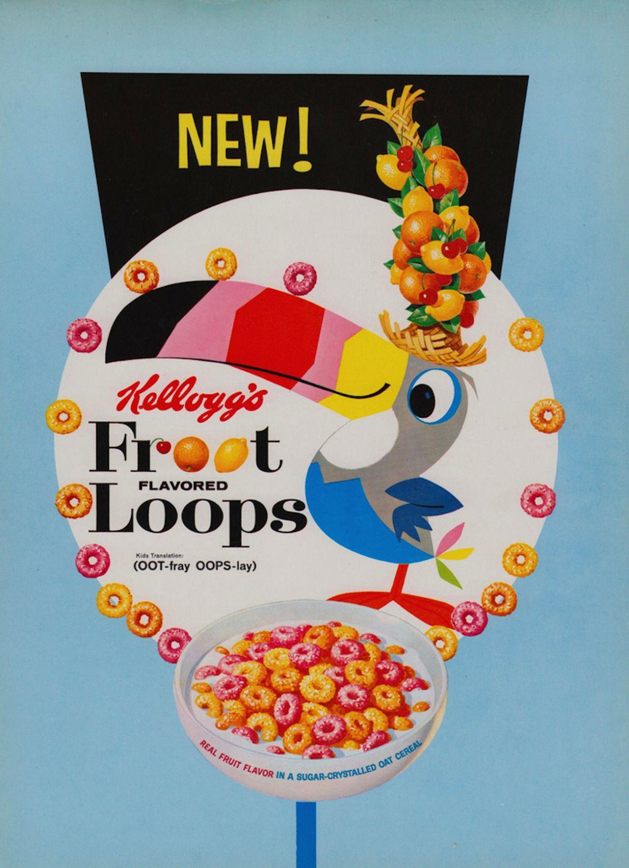 Froot Loops animated mascot, Toucan Sam