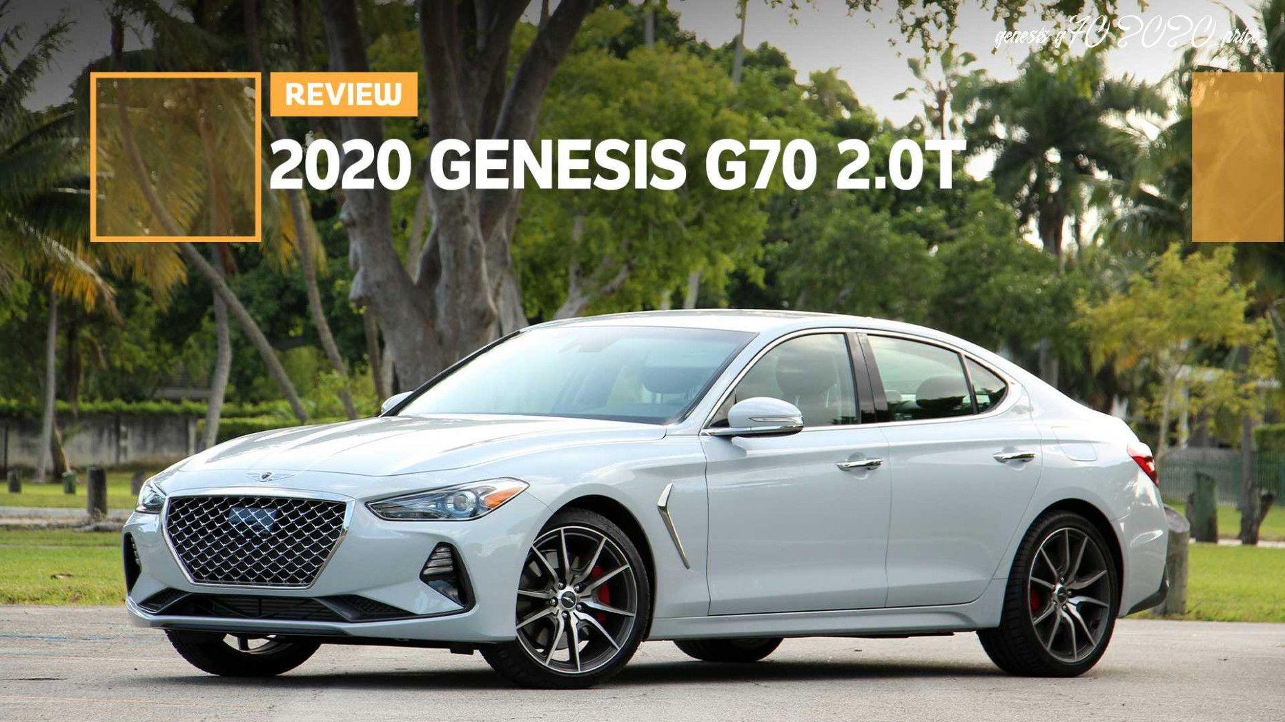 Genesis G70 2020 Price Picture In 2020 Kia Car Sports Cars