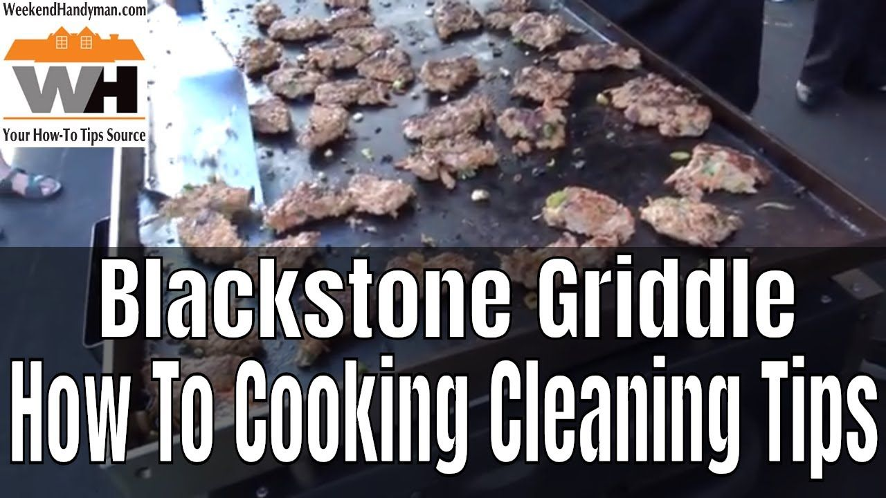 How to clean and maintain your blackstone griddle with