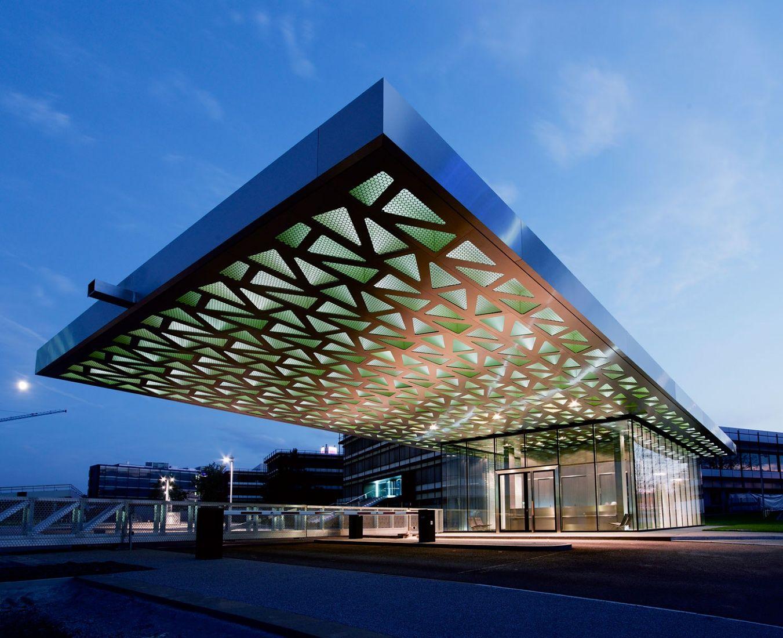 Trumpf Gatehouse Google Search Canopy Architecture