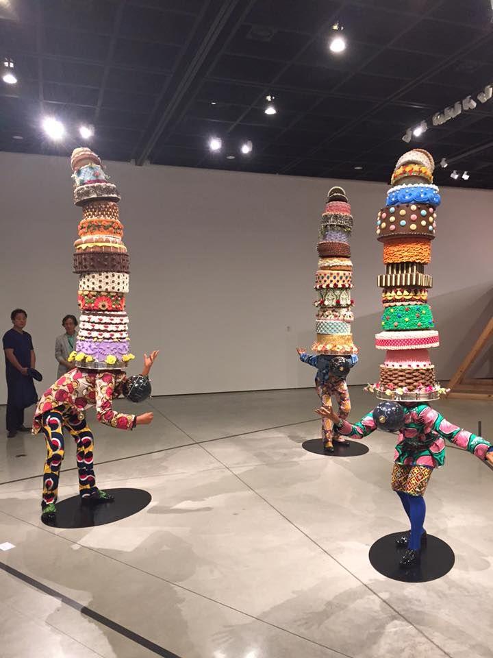 Yinka Shonibare Artist Exhibition Sculptures Daegu Art Museum South Korea