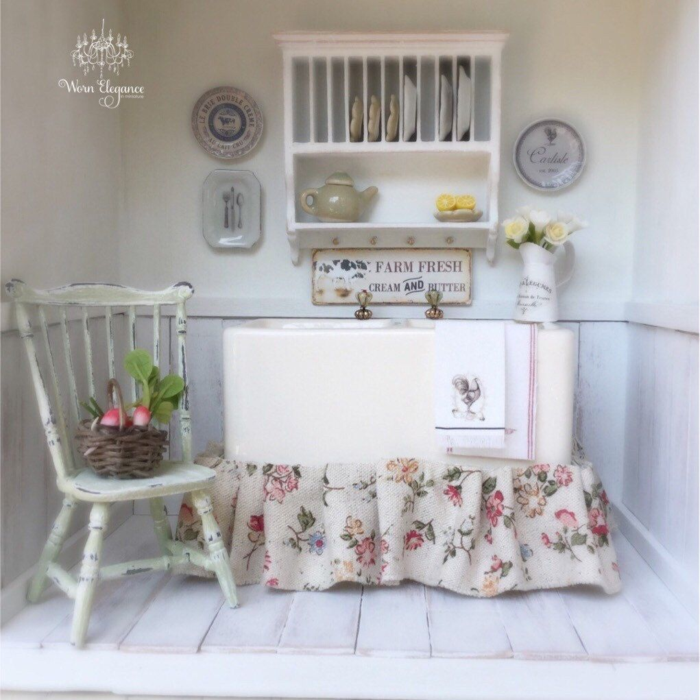 Double farmhouse sink - perfect for your little kitchen or garden ...