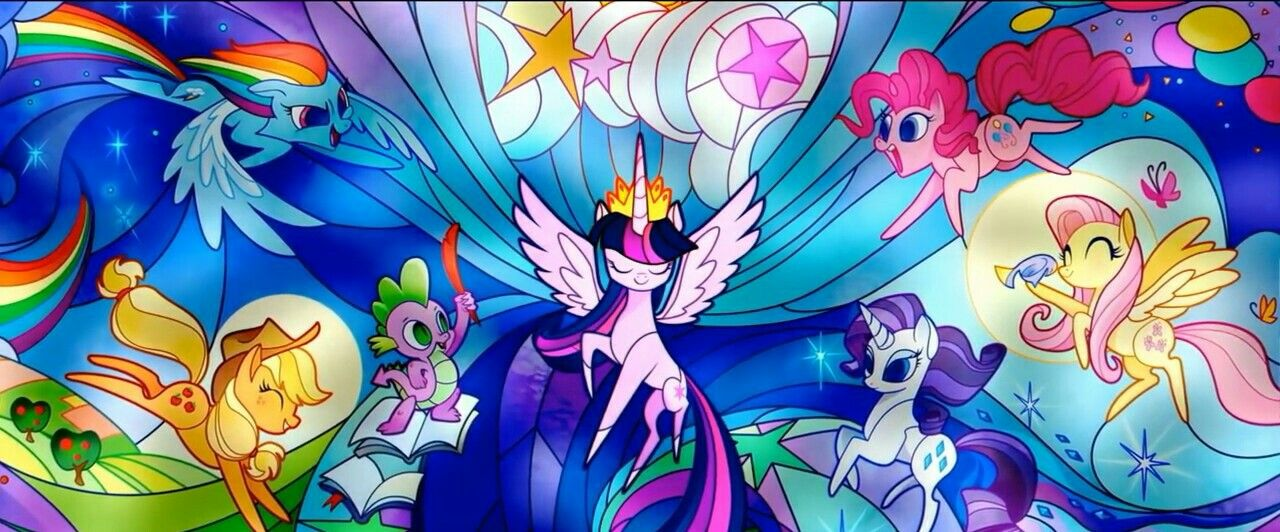 My Little Pony The Movie Wallpaper From The Deleted Scene Of