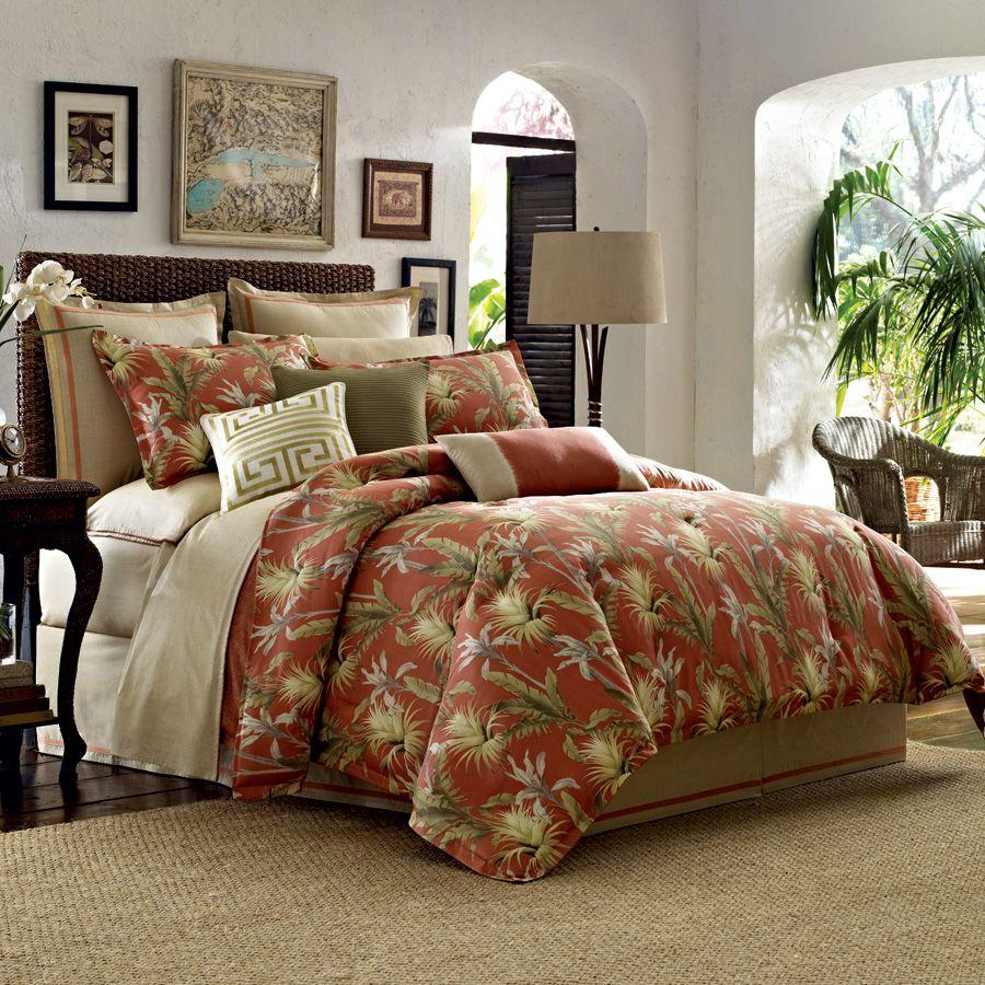 TommyBahama Catalina Comforter & Duvet Set. tropical