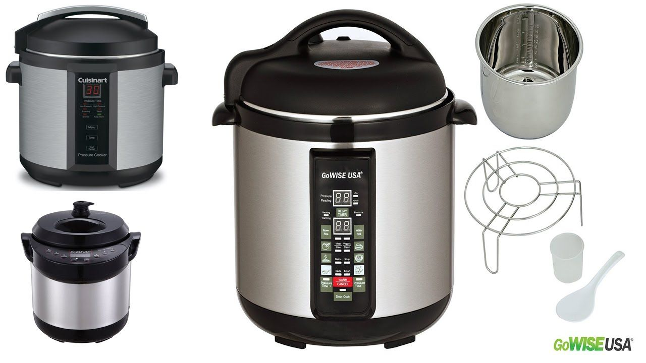 Top 5 Best Electric Pressure Cooker Reviews 2016 Best Pressure Cooker
