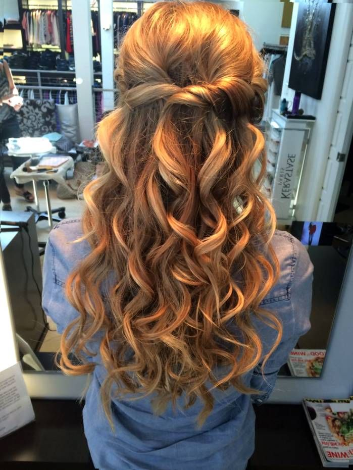 Prom Hair Up Down Hairstyles