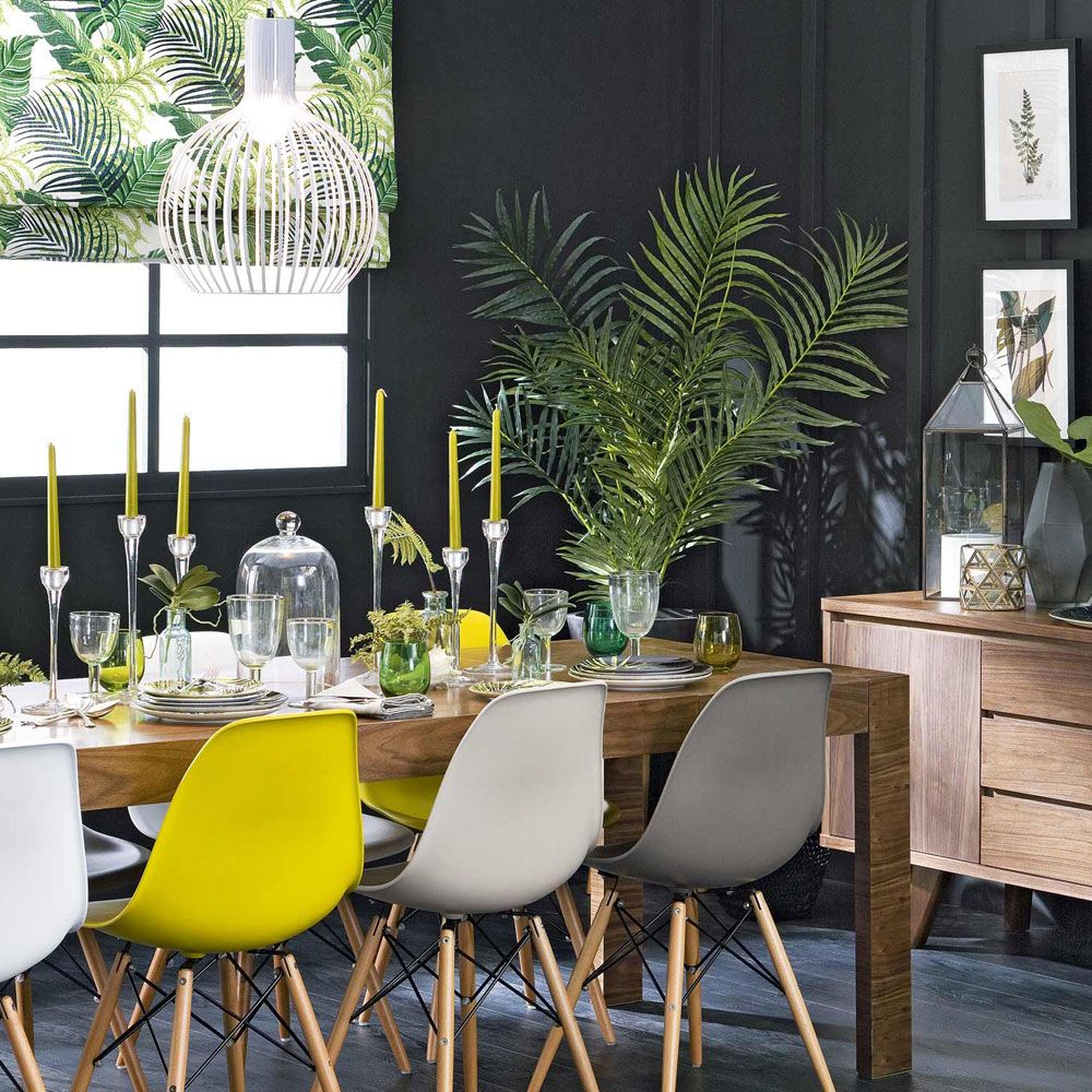 18 Tropical Dining Room Designs Ideas: Tropical Decorating Ideas