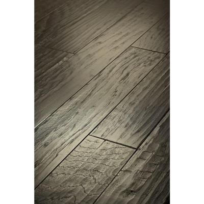 Shaw Western Hickory Winter Grey 38 In Thick X 5 In Wide X Random