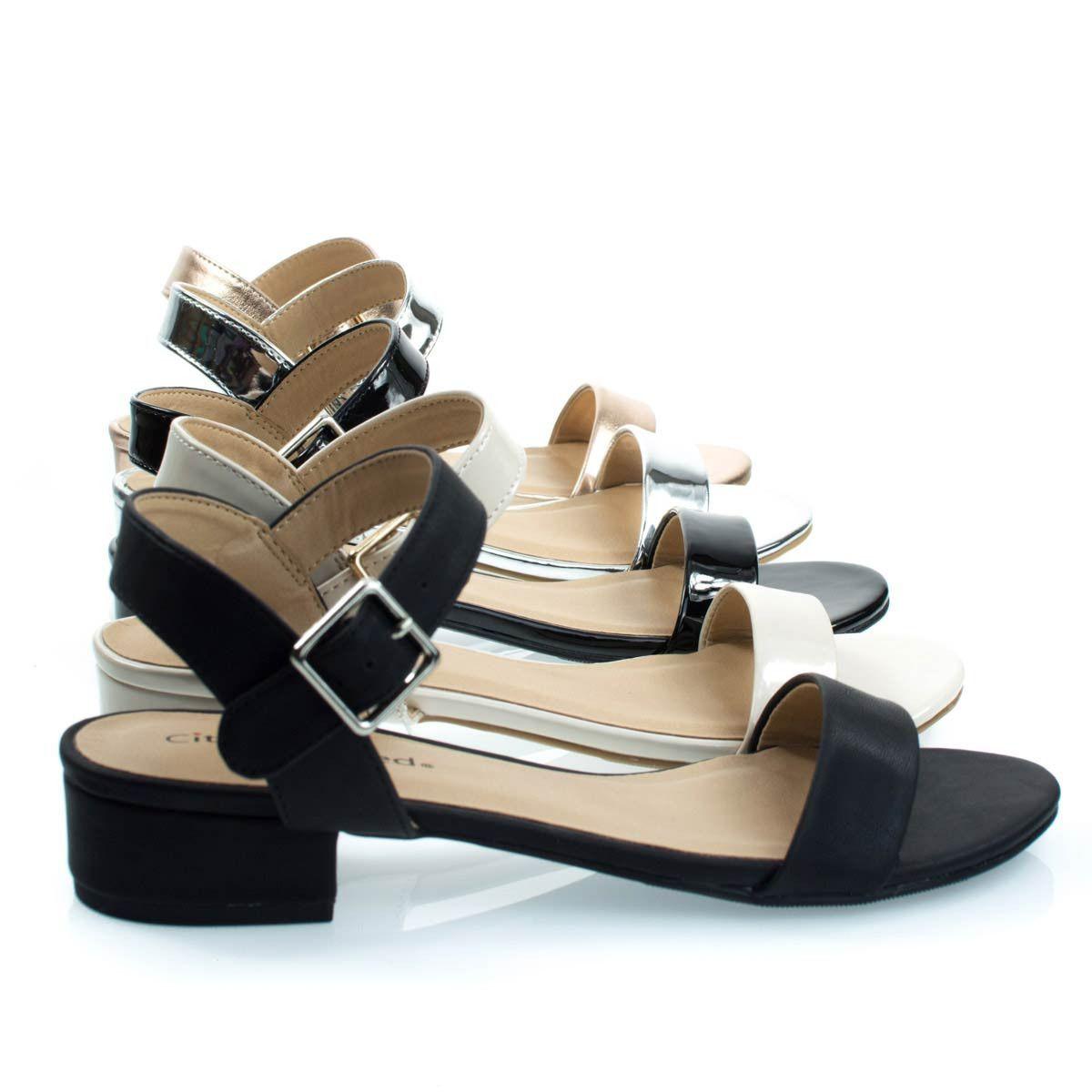 39eb2563d Refine Black Pu by City Classified, Low Chunky Block Heel Dress Sandal, Women's  Open Toe Summer Shoes