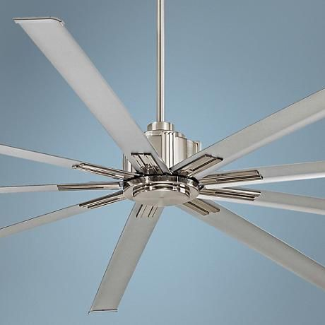 72 Minka Aire Xtreme Brushed Nickel Ceiling Fan 8y400 Lamps