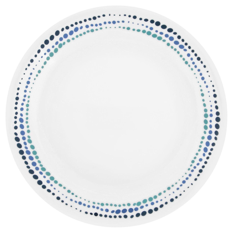 "Amazon.com | Corelle LW Ocean Blues 8.5""(Set of 6): Luncheon Plates $24.48"