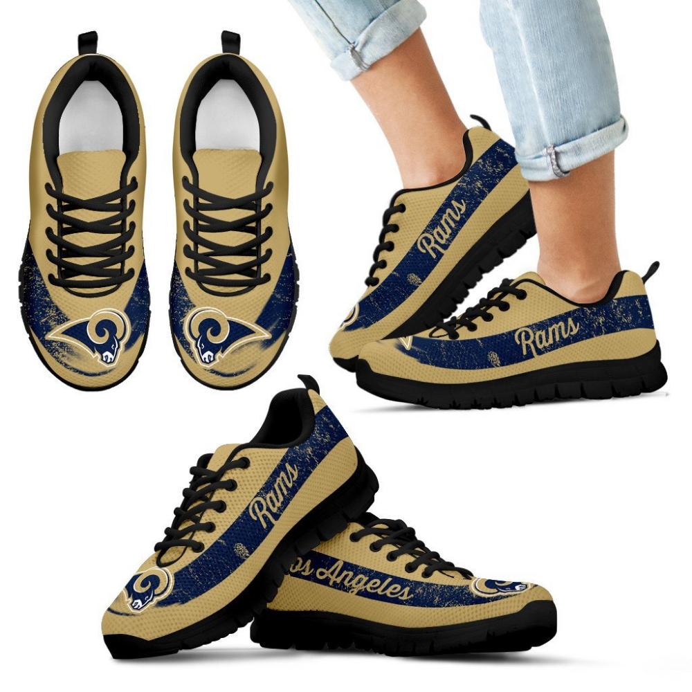 Single Line Logo Los Angeles Rams Sneakers Sneakers