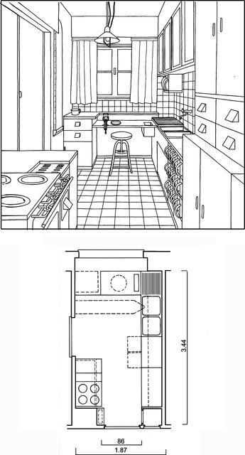 kuchnia frankfurdzka margarete sch tte lihotzky dziedzictwo pinterest frankfurt bauhaus. Black Bedroom Furniture Sets. Home Design Ideas