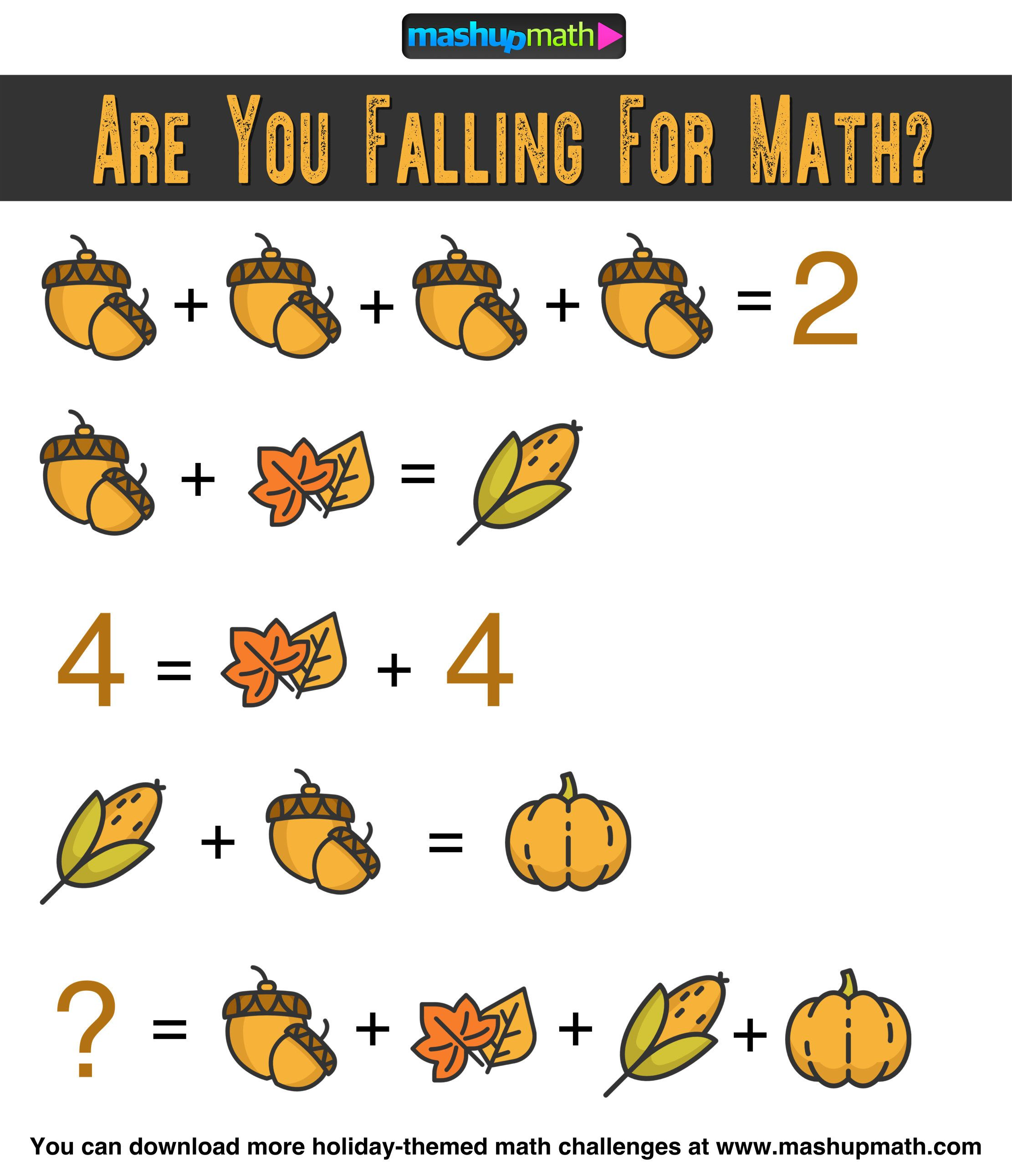 Math Challenge Math Logic Puzzles Math Riddles [ 2583 x 2222 Pixel ]