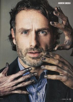andrew lincoln with wife
