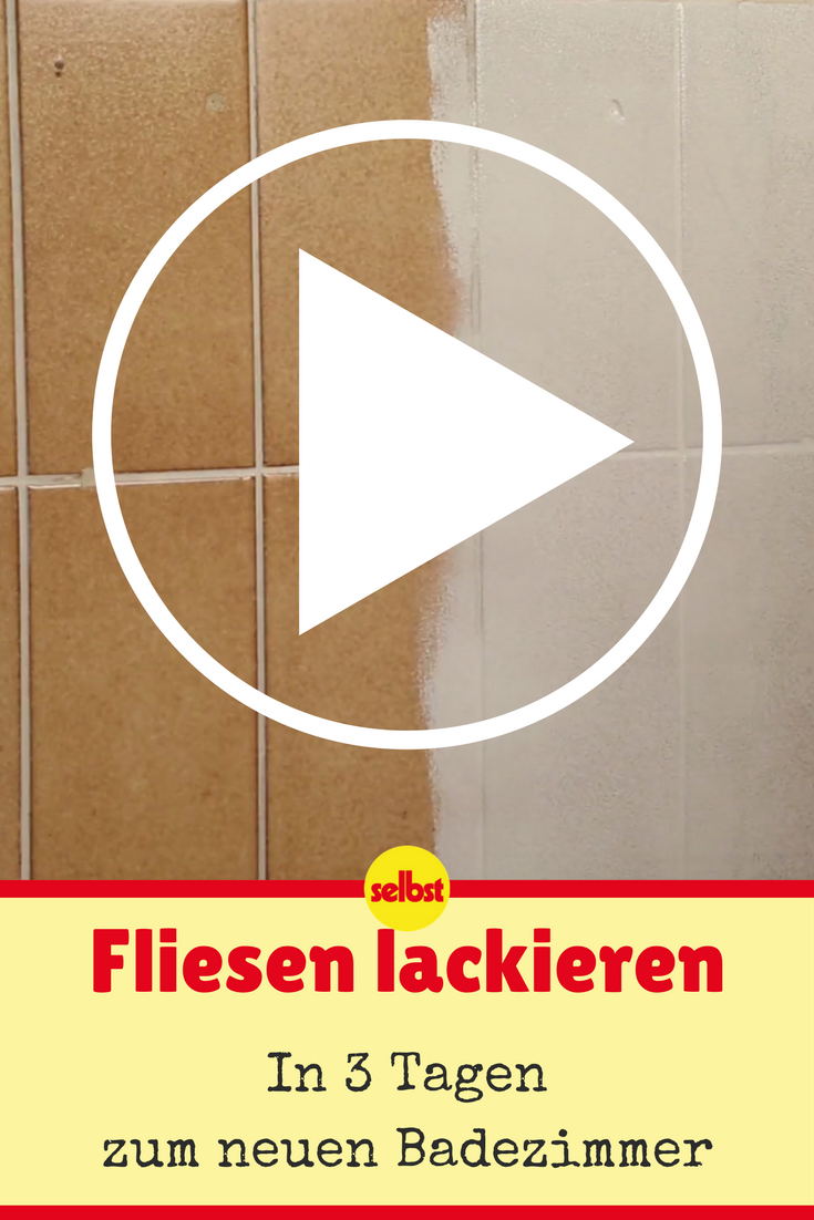 fliesen lackieren | video-anleitungen | pinterest | bathroom, bath