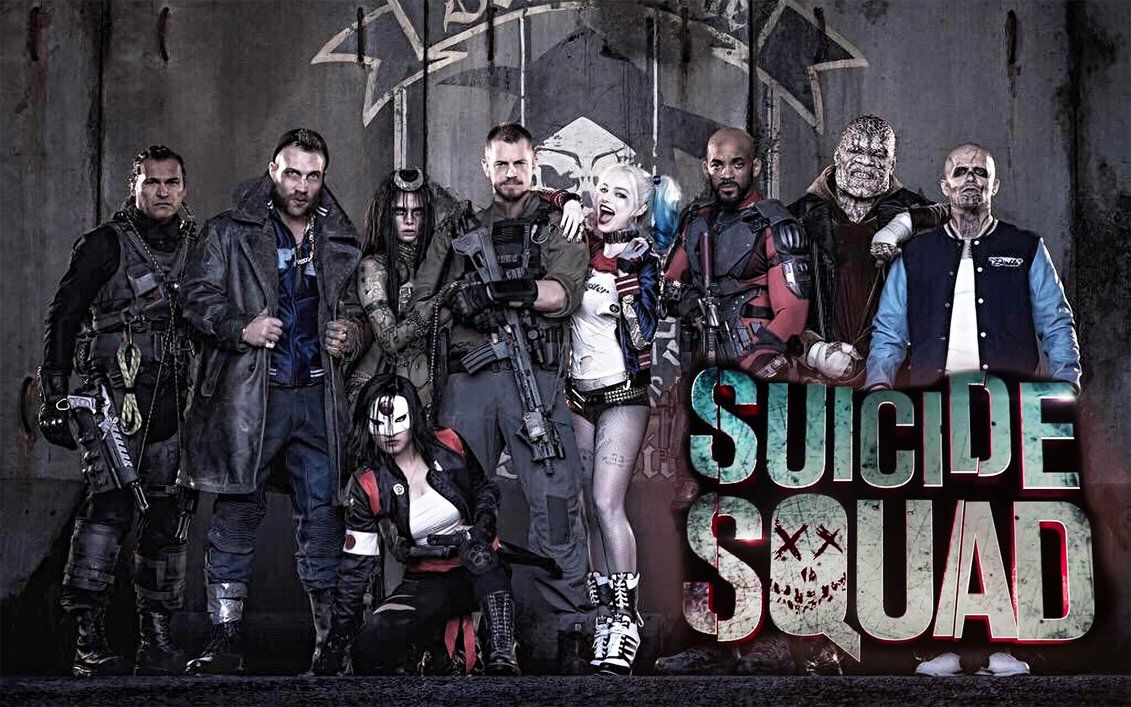 Suicide Squad Walllpaper by kelvinmelo60