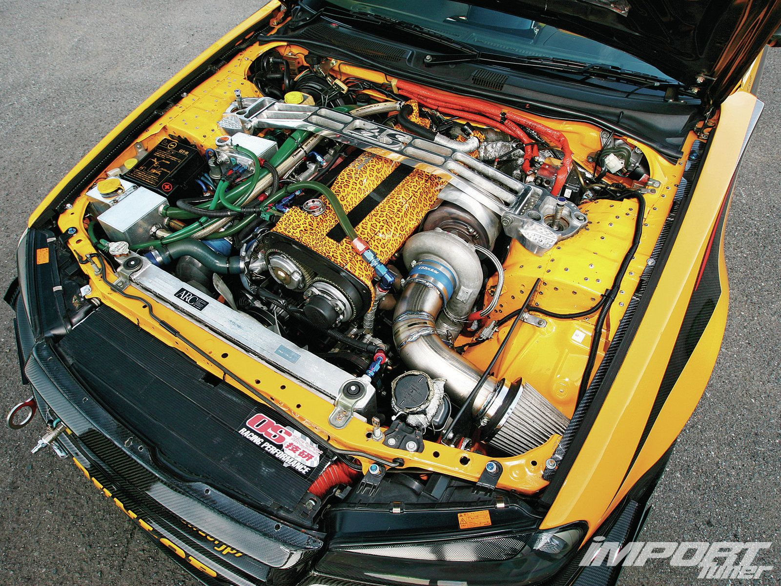 Nissan BNR34 Skyline Engine Bay Skyline Import FastFurious