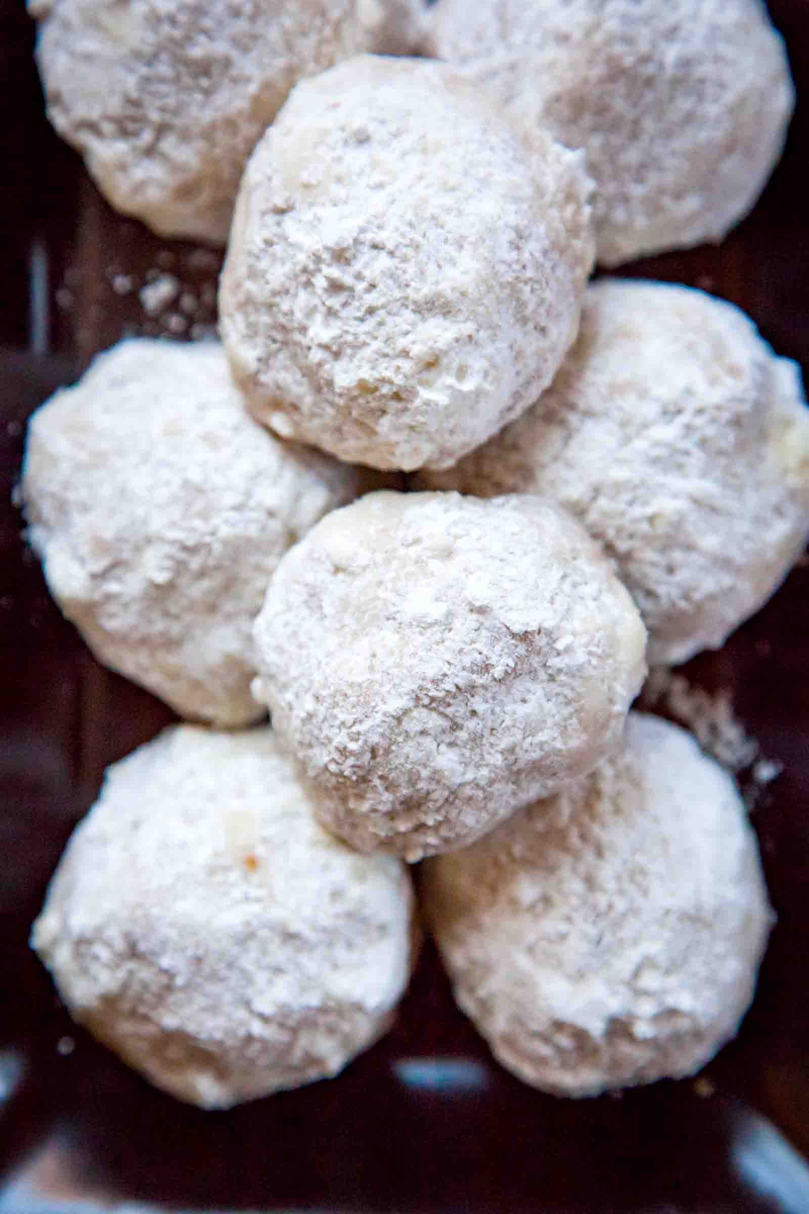Crumbly, buttery, and nutty Mexican Wedding Cookies are
