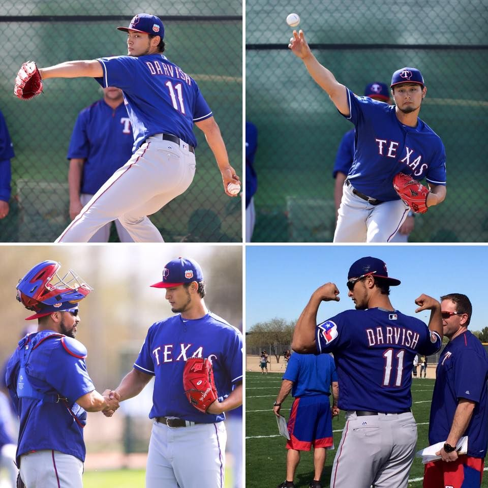 Flex your Rangers fandom for Yu's return to the mound today! #NeverEverQuit