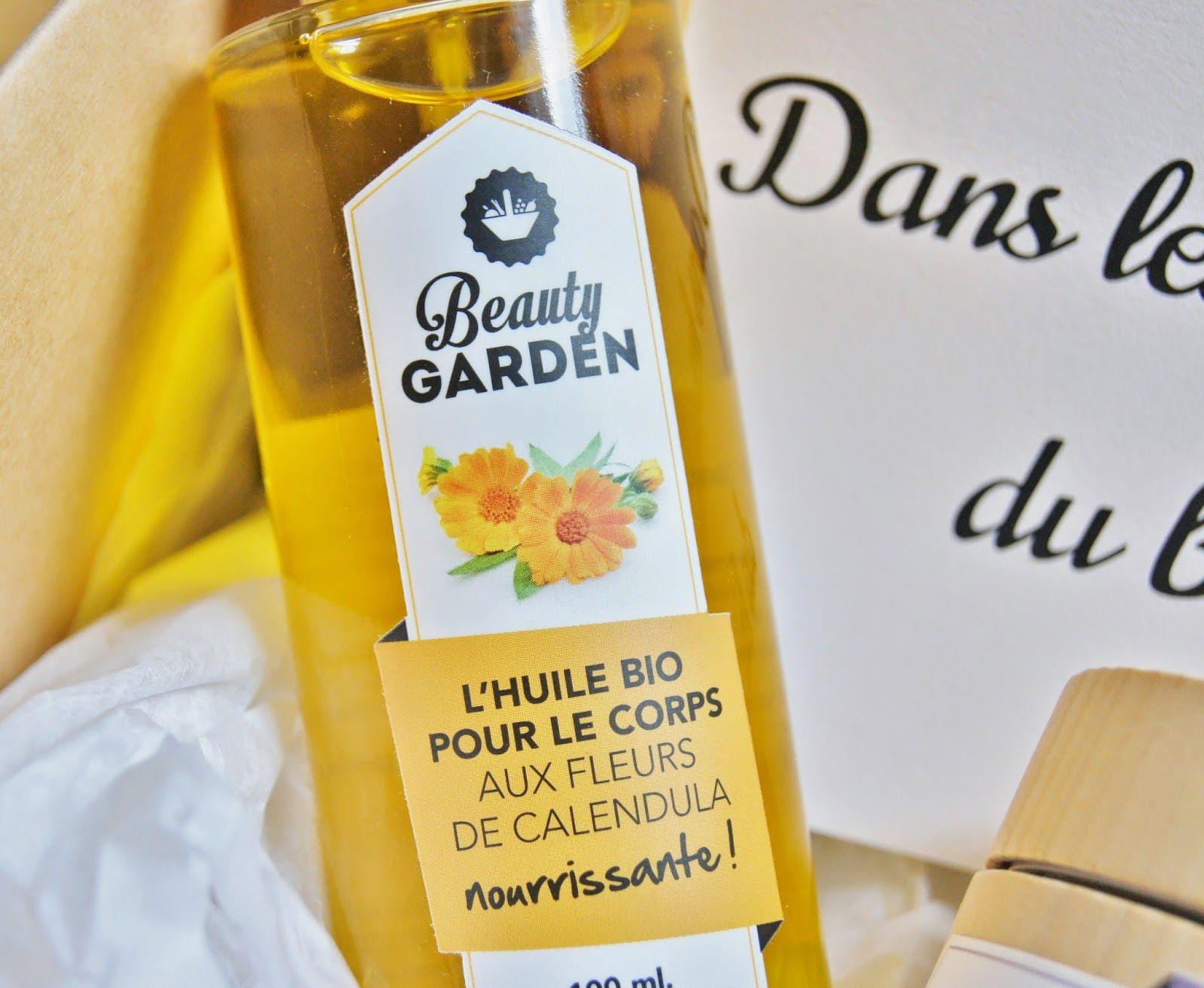 Huile bio nourrissante au calendula de Beauty Garden sur la jolie photo de @ninilachipie #skincare #calendula
