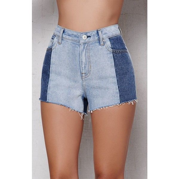 High waisted cut off jean shorts seems me