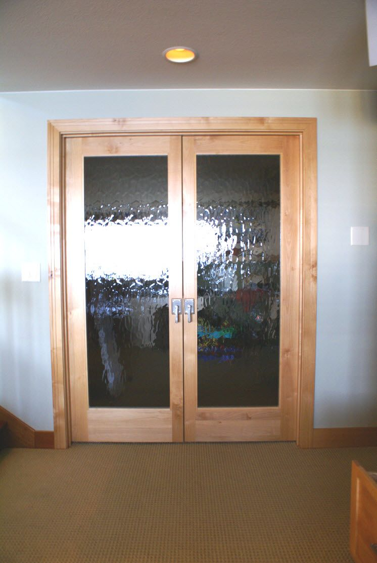 Interior Doors Double French Doors With An Obscure Glass Bayer Built Woodworks Doors Interior French Doors Interior Double French Doors
