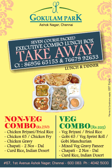 Gokulam Park Non Veg Combo Lunch And Dinner Ad Times Of India Chennai Check Out More Hotels Restaurants Advertisement Advert Lunches And Dinners Veg Lunch