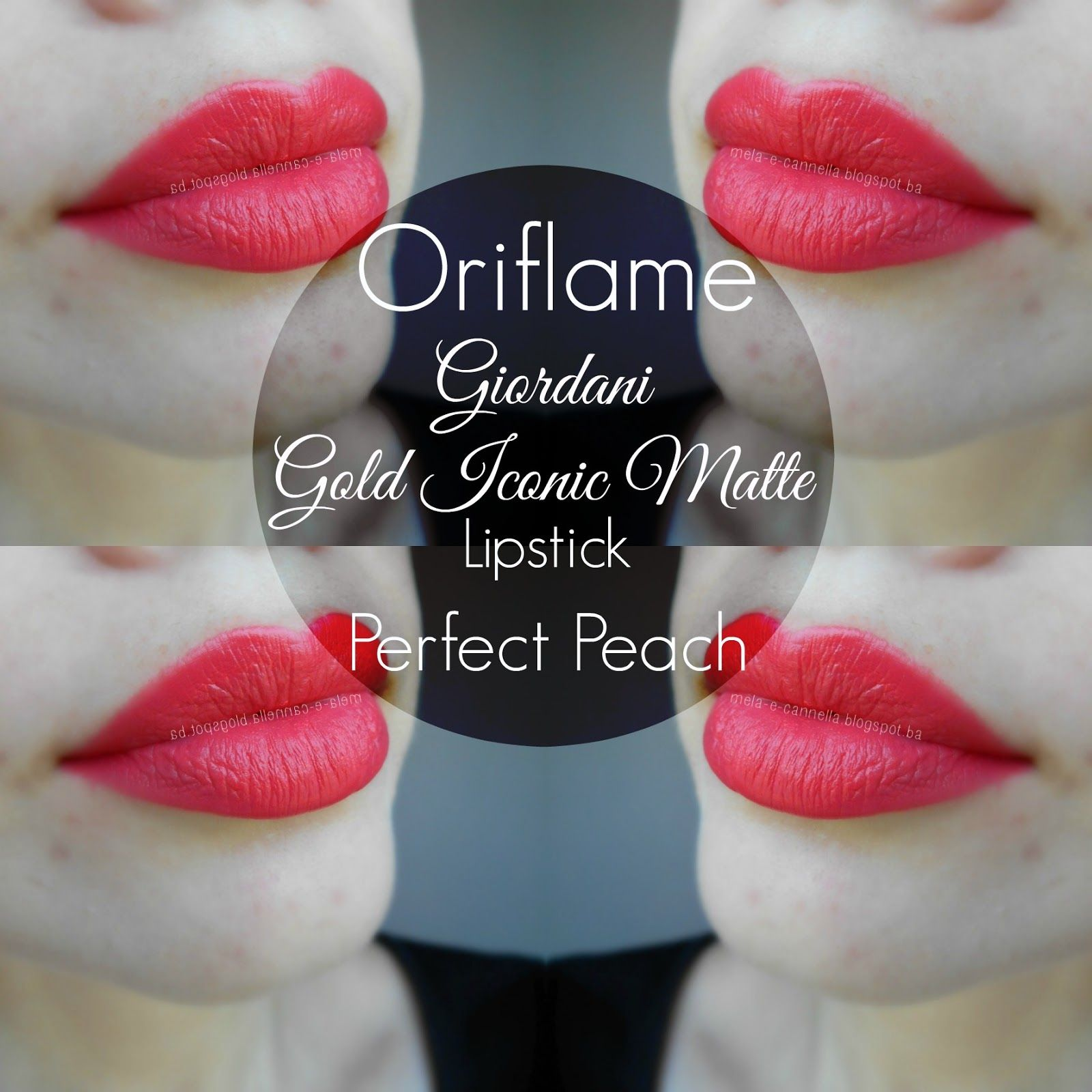 Oriflame Giordani Gold Iconic Matte Perfect Peach Secret Concealer Light