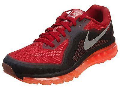Nike Air Max 2014 Mens 621077 601 Red Black Athletic Running