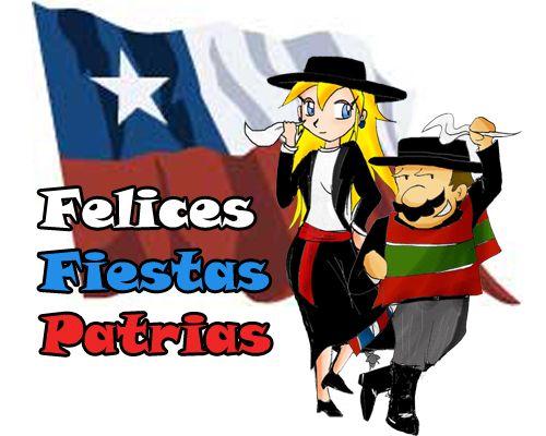 Para los chilenos, Felices Fiestas Patrias